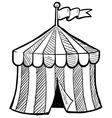Doodle circus tent