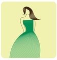 Fashion figure vector image