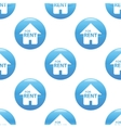 House for rent sign pattern vector image vector image