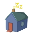 House icon cartoon style vector image vector image