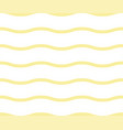 noodle seamless pattern yellow waves abstract vector image vector image