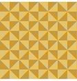 Pattern of yellow beige squares vector image vector image
