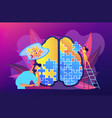 psychotherapy concept vector image
