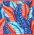 autumn multicolored pattern vector image vector image
