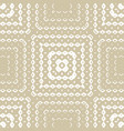 golden geometric ornamental seamless pattern with vector image vector image