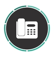 Office Phone computer symbol vector image
