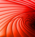Red waves vector image vector image
