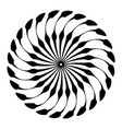 retro sun burst shapes vintage logo labels badges vector image