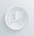 Truck Logistic icon vector image vector image