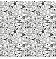 Web - seamless background vector image