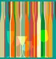 bar menu ilustration vector image vector image