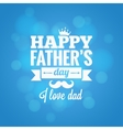 fathers day party design background vector image vector image