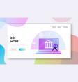 finctech financial technologies cashless payment vector image vector image