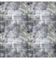 Grey geometric abstract pattern vector image vector image