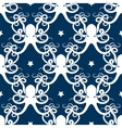 Ocean seamless pattern with octopus vector image vector image