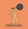 parkinsons disease logo icon design template vector image vector image