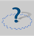 a question mark icon for web and mobile ask and a vector image