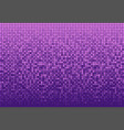banner purple sequins glitter sparkle stars glow vector image vector image
