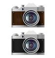 cameras Stock vector image vector image