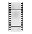 film for the photo on a white background vector image vector image