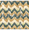 Seamless ikat pattern in beige Abstract seamless vector image vector image