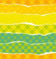 torn wrapping paper vector image