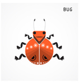 Bug sign vector image