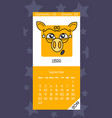 calendar for september 2019 vector image vector image