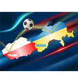 euro 2012 vector image vector image