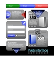 web stuff collection vector image