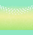 spring background in gentle green and blue color vector image