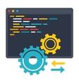 API Icon vector image vector image