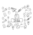 big idea sketch design vector image vector image