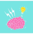 Brain storming vector image vector image