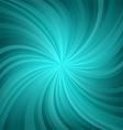 Dark cyan twirl pattern background vector image vector image