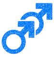 gay sex grunge icon vector image vector image
