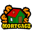 Mortgage icon vector image
