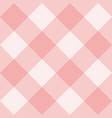 seamless pink and white background or pattern vector image