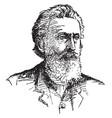 sidney edgerton vintage vector image vector image