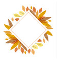 autumn nature background vector image vector image