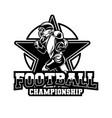 badge american football championship all star