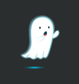 Cute Ghost Single 5 vector image vector image
