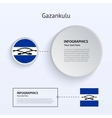 Gazankulu Country Set of Banners vector image vector image
