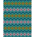 knitted bright seamless winter holiday pattern vector image vector image