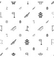 pole icons pattern seamless white background vector image vector image