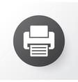 printer icon symbol premium quality isolated fax vector image