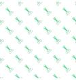 Scissors pattern cartoon style vector image vector image