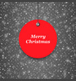 texture-snow-christmas-red vector image vector image