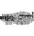 why a website design speaks volumes about your vector image vector image