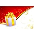 Holiday Gift vector image